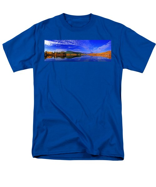 Men's T-Shirt  (Regular Fit) featuring the photograph Fall Color Oxbow Bend Grand Tetons National Park Wyoming by Dave Welling