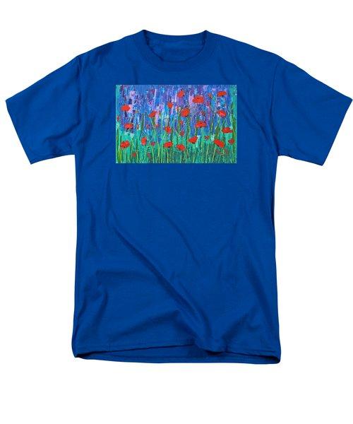 Field Of Dreams Men's T-Shirt  (Regular Fit) by Patricia Olson