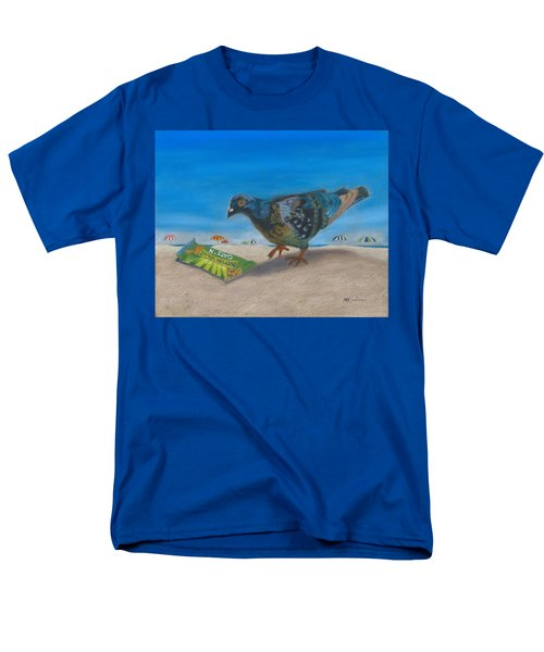 Men's T-Shirt  (Regular Fit) featuring the painting Finders Keepers by Arlene Crafton