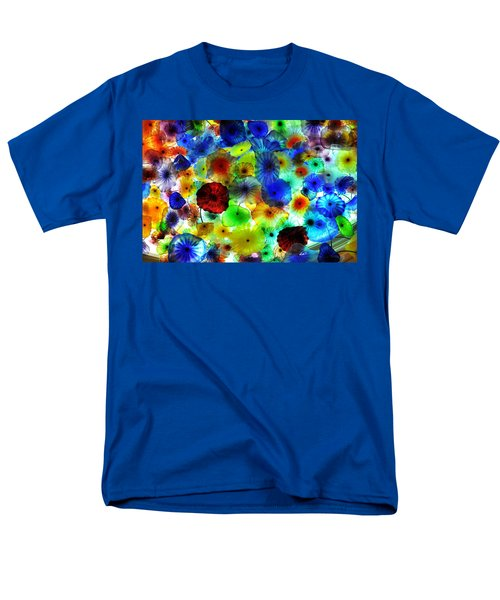 Men's T-Shirt  (Regular Fit) featuring the photograph Fiori Di Como By Glass Sculptor by Gandz Photography
