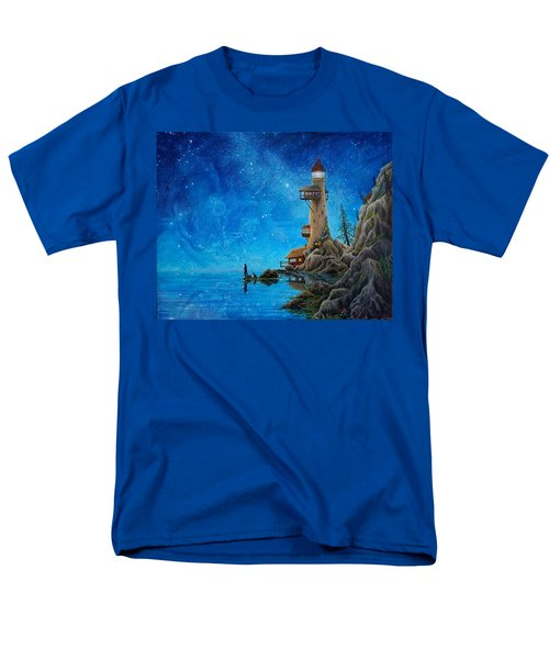 Fishing Men's T-Shirt  (Regular Fit) by Matt Konar