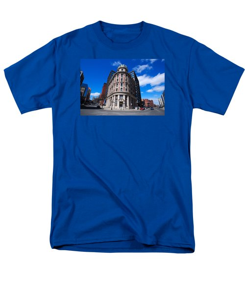 Men's T-Shirt  (Regular Fit) featuring the photograph Fork Albany N Y by John Schneider