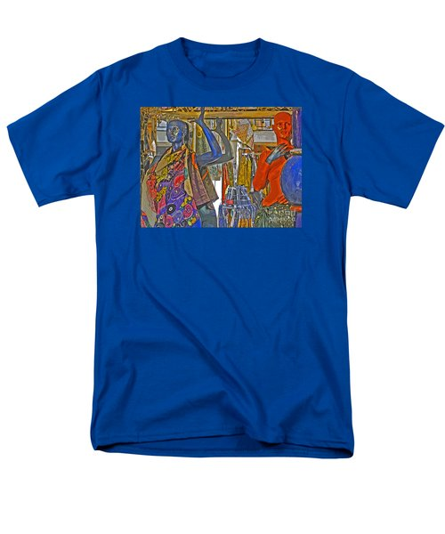 Men's T-Shirt  (Regular Fit) featuring the photograph Funky Boutique by Ann Horn