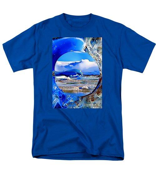 Glacier Men's T-Shirt  (Regular Fit) by Catherine Lott
