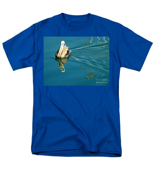 Men's T-Shirt  (Regular Fit) featuring the photograph Gliding by Clare Bevan
