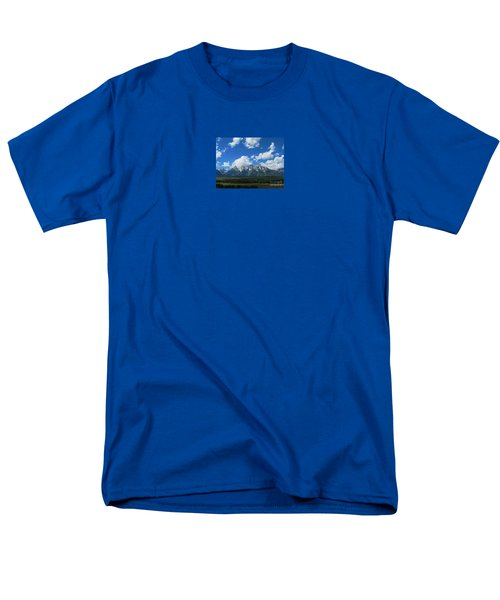 Men's T-Shirt  (Regular Fit) featuring the photograph Grand Teton National Park by Janice Westerberg