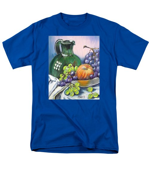 Grapes Galore Men's T-Shirt  (Regular Fit) by Marilyn  McNish