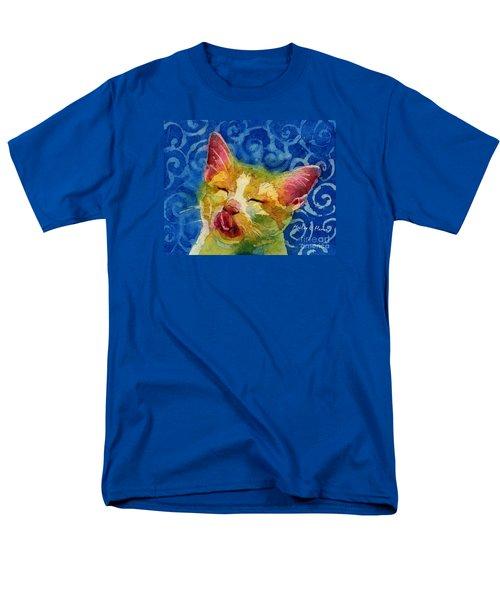 Happy Sunbathing Men's T-Shirt  (Regular Fit) by Hailey E Herrera
