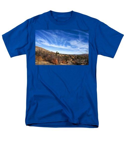 Heaven Men's T-Shirt  (Regular Fit) by Angela J Wright
