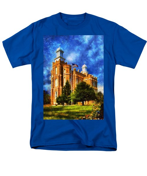 Men's T-Shirt  (Regular Fit) featuring the digital art House Of Learning by Greg Collins