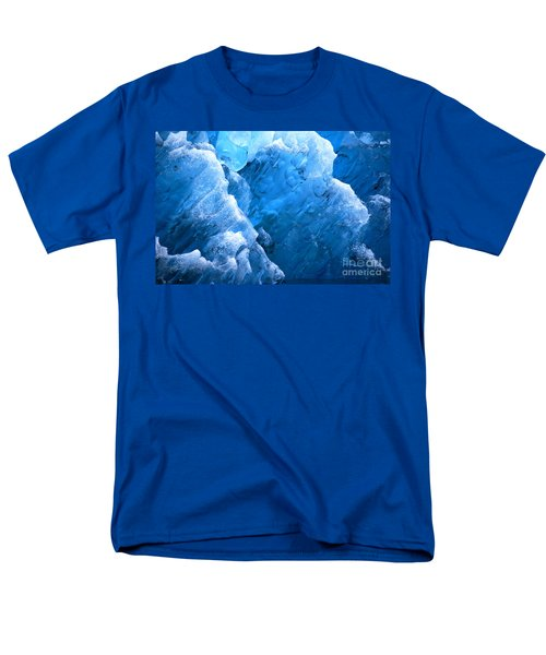 Iceberg Blues Men's T-Shirt  (Regular Fit) by Cynthia Lagoudakis