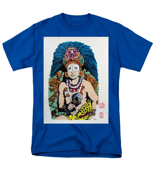 Inca  Royalty Men's T-Shirt  (Regular Fit) by Roberto Prusso