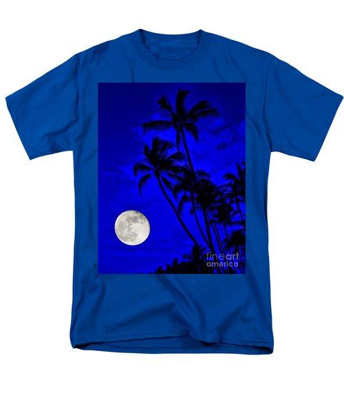 Kona Moon Rising Men's T-Shirt  (Regular Fit) by David Lawson