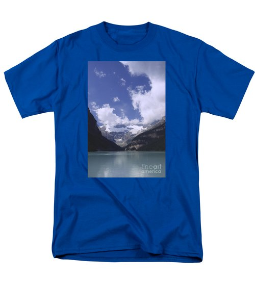 Men's T-Shirt  (Regular Fit) featuring the photograph Lake Louise Canada by Rudi Prott