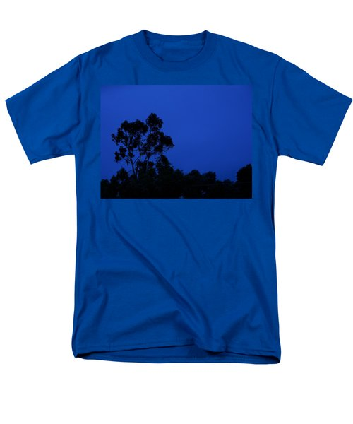 Men's T-Shirt  (Regular Fit) featuring the photograph Blue Landscape by Mark Blauhoefer