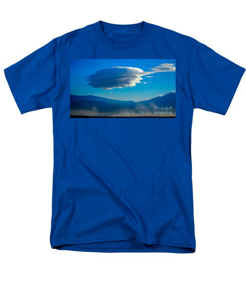 Lenticular Dust Storm Men's T-Shirt  (Regular Fit) by Angela J Wright