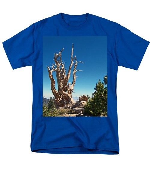 Men's T-Shirt  (Regular Fit) featuring the photograph Lone Bristlecone by Alan Socolik
