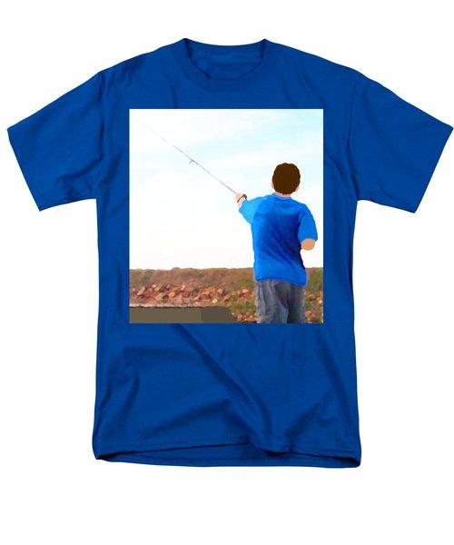 Man Fishing Men's T-Shirt  (Regular Fit)