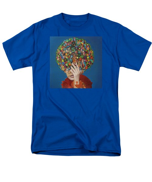 Men's T-Shirt  (Regular Fit) featuring the painting Margarita Martini by Douglas Fromm