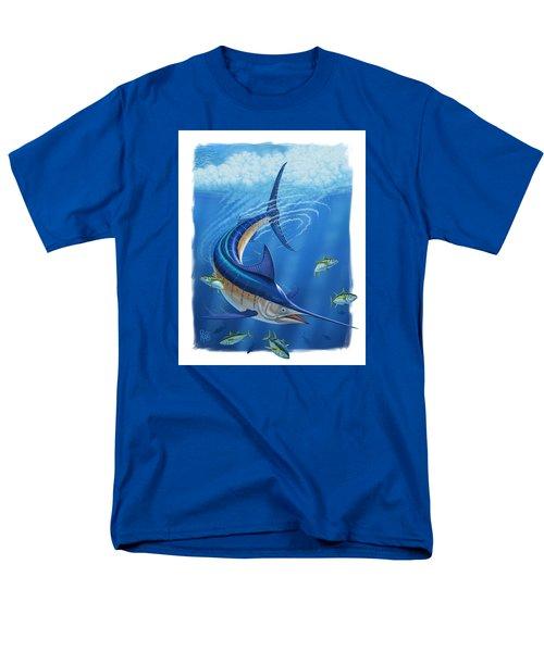 Men's T-Shirt  (Regular Fit) featuring the digital art Marlin by Scott Ross