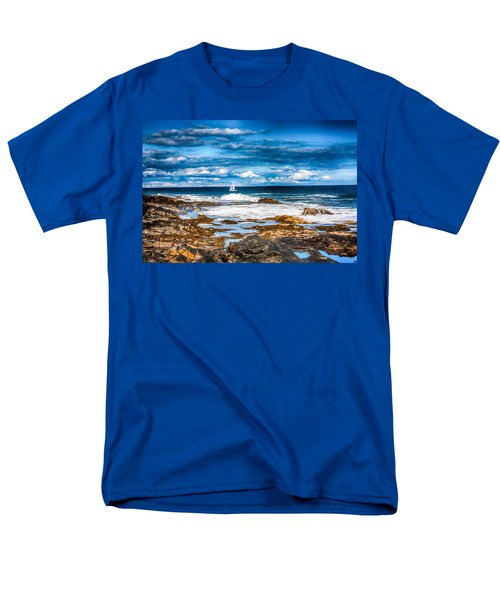 Midday Sail Men's T-Shirt  (Regular Fit) by Fred Larson