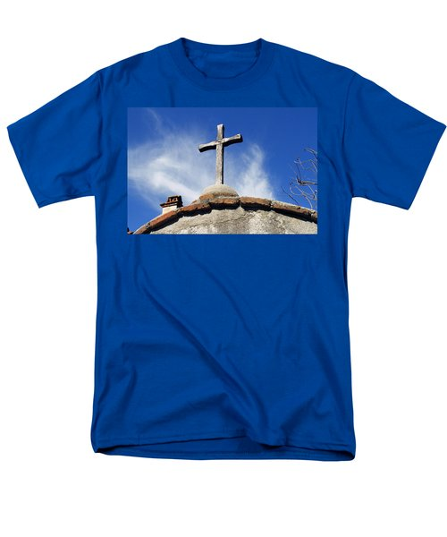 Mission Cross Men's T-Shirt  (Regular Fit) by Shoal Hollingsworth