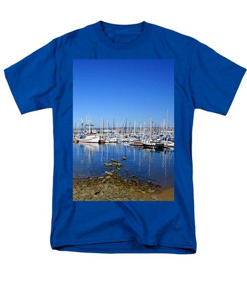 Men's T-Shirt  (Regular Fit) featuring the photograph Monterey-7 by Dean Ferreira