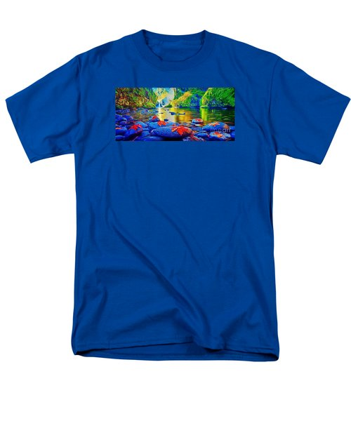 More Realistic Version Men's T-Shirt  (Regular Fit) by Catherine Lott