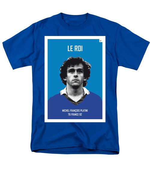 My Platini Soccer Legend Poster Men's T-Shirt  (Regular Fit) by Chungkong Art