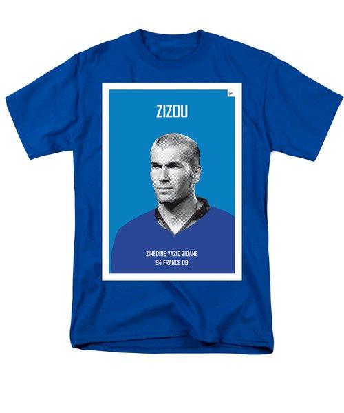 My Zidane Soccer Legend Poster Men's T-Shirt  (Regular Fit) by Chungkong Art