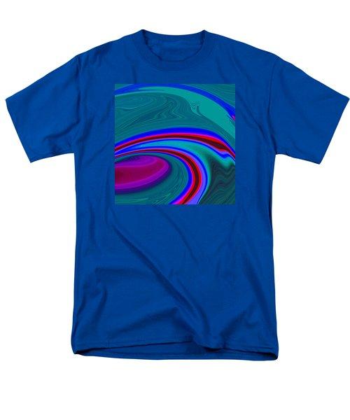 Neon Wave C2014 Men's T-Shirt  (Regular Fit) by Paul Ashby