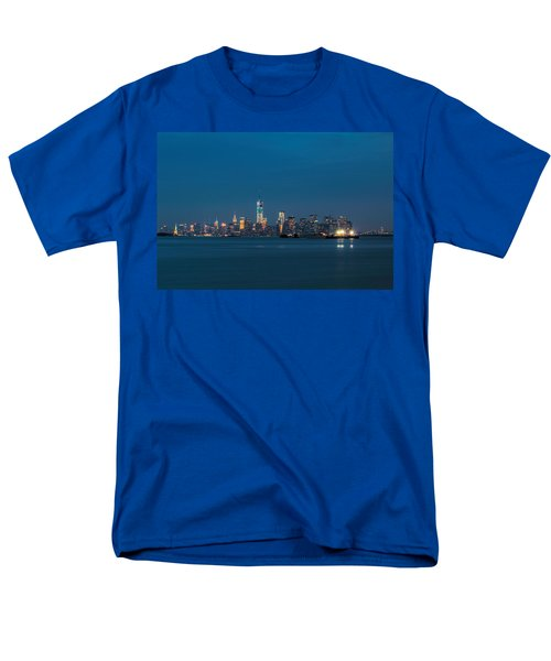 New York Twilight Men's T-Shirt  (Regular Fit) by Jonathan Davison