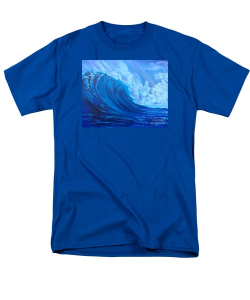 Men's T-Shirt  (Regular Fit) featuring the painting Wave V1 by Jenny Lee