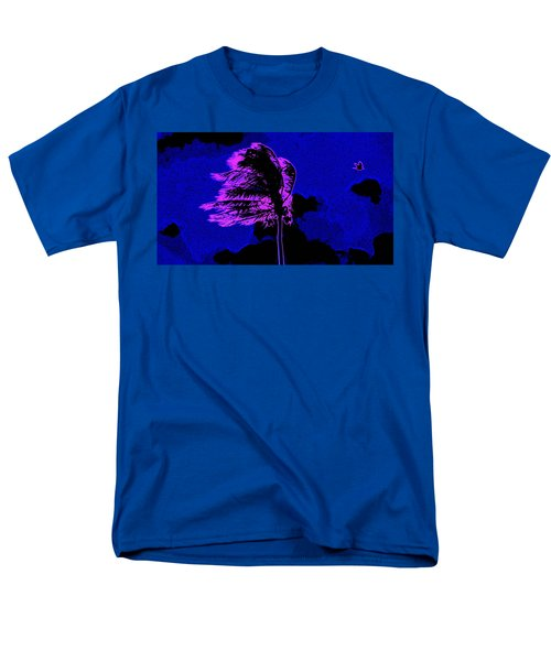 Men's T-Shirt  (Regular Fit) featuring the painting Ocean Art 111 by David Mckinney