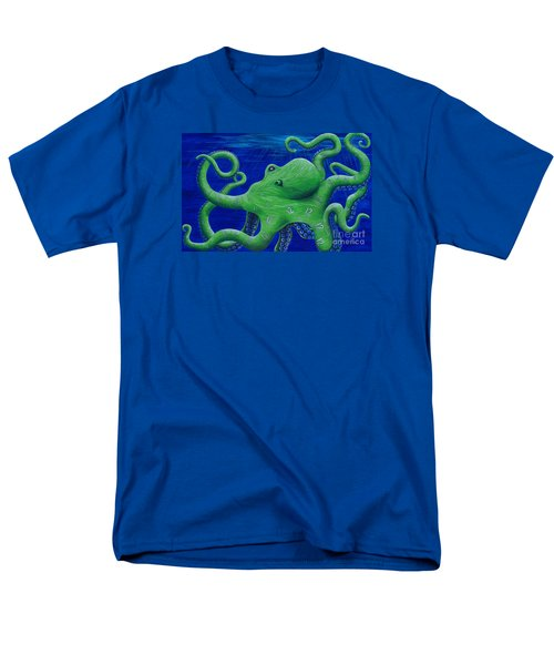 Octohawk Men's T-Shirt  (Regular Fit) by Rebecca Parker