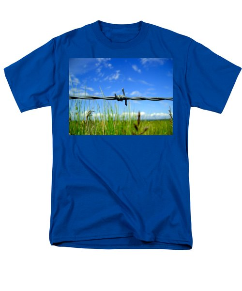 Men's T-Shirt  (Regular Fit) featuring the photograph Off Limits by Nina Ficur Feenan