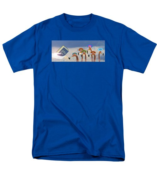Men's T-Shirt  (Regular Fit) featuring the photograph Oh When The Saints Go Marching In by I'ina Van Lawick