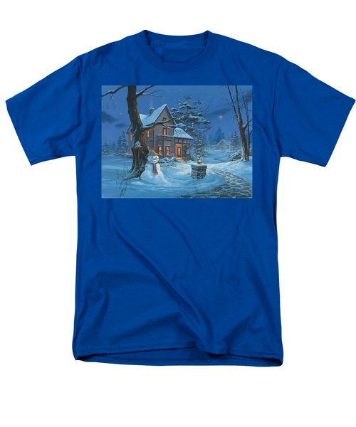 Once Upon A Winter's Night Men's T-Shirt  (Regular Fit) by Michael Humphries