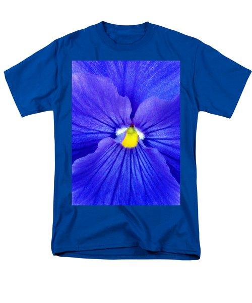 Pansy Flower 37 Men's T-Shirt  (Regular Fit) by Pamela Critchlow