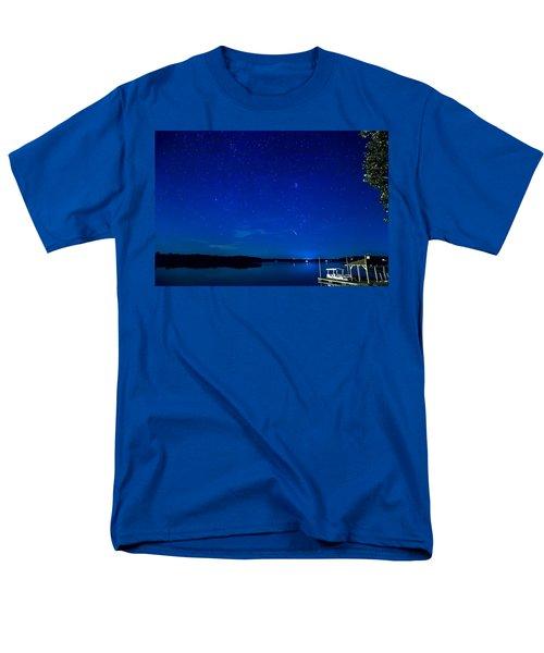 Perseid Meteor Men's T-Shirt  (Regular Fit) by Charles Hite