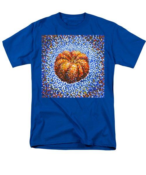 Pointillism Pumpkin Men's T-Shirt  (Regular Fit) by Samantha Geernaert