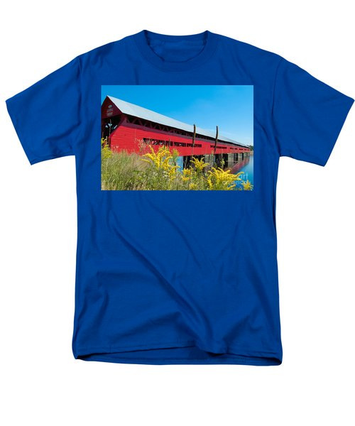 Men's T-Shirt  (Regular Fit) featuring the photograph Pont Marchand by Bianca Nadeau