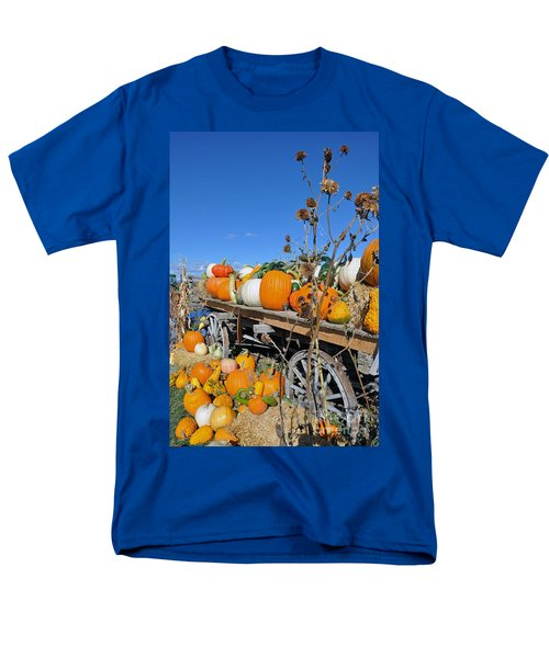 Pumpkin Farm Men's T-Shirt  (Regular Fit) by Minnie Lippiatt