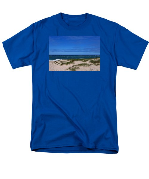 Race Point Beach Men's T-Shirt  (Regular Fit) by Catherine Gagne
