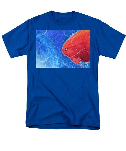 Red Fish Men's T-Shirt  (Regular Fit) by Samantha Geernaert