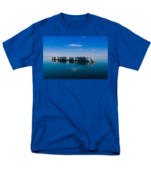 Reflection At Salton Sea Men's T-Shirt  (Regular Fit)