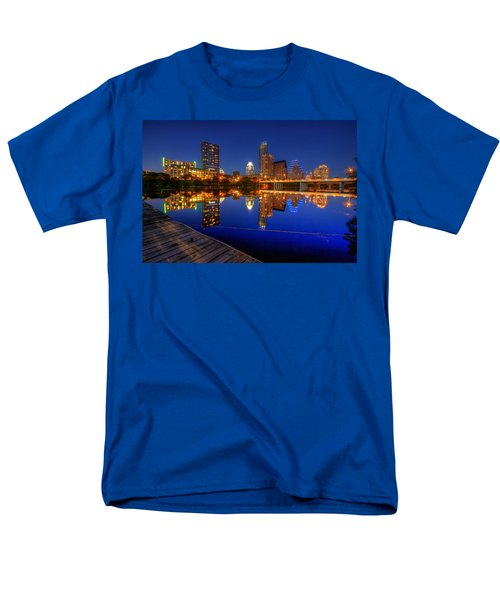 Reflections Men's T-Shirt  (Regular Fit) by Dave Files