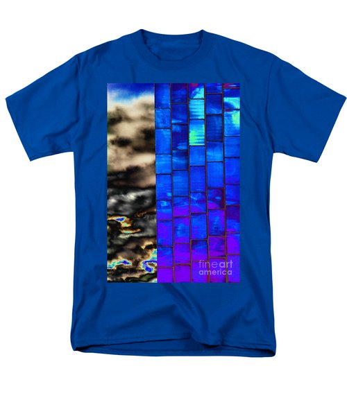 Men's T-Shirt  (Regular Fit) featuring the photograph Sapphire Sunset by Christiane Hellner-OBrien