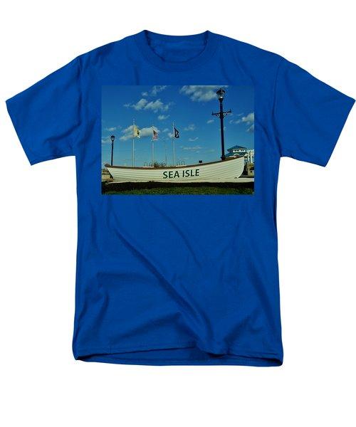 Sea Isle City Men's T-Shirt  (Regular Fit) by Ed Sweeney