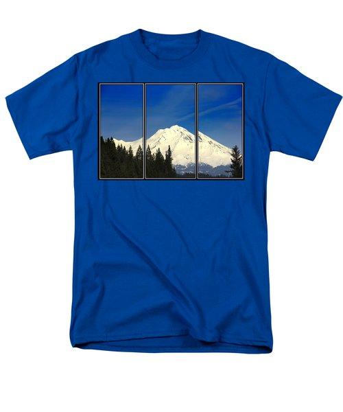 Shasta Men's T-Shirt  (Regular Fit) by Athala Carole Bruckner